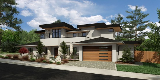 Dimensional Construction Modern Home Ideas